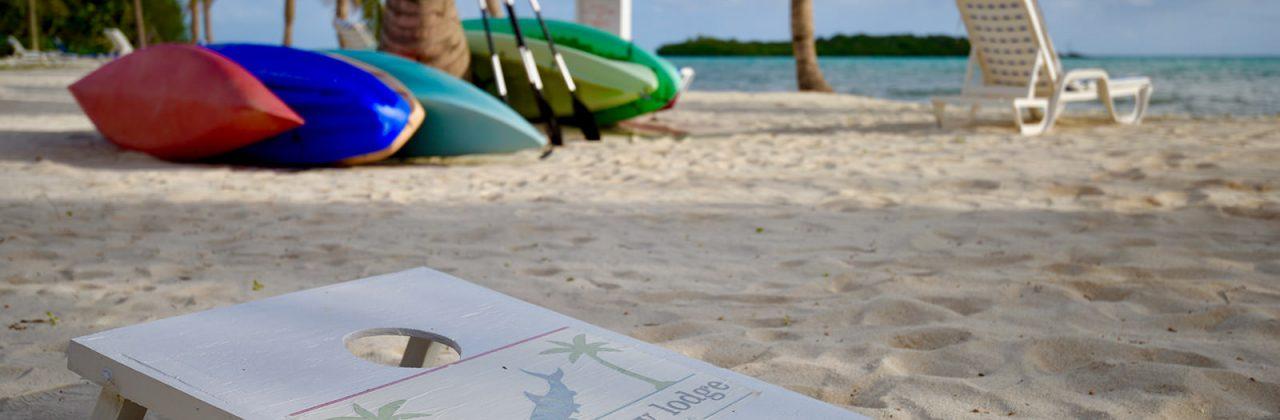 Swains Cay Lodge Beach